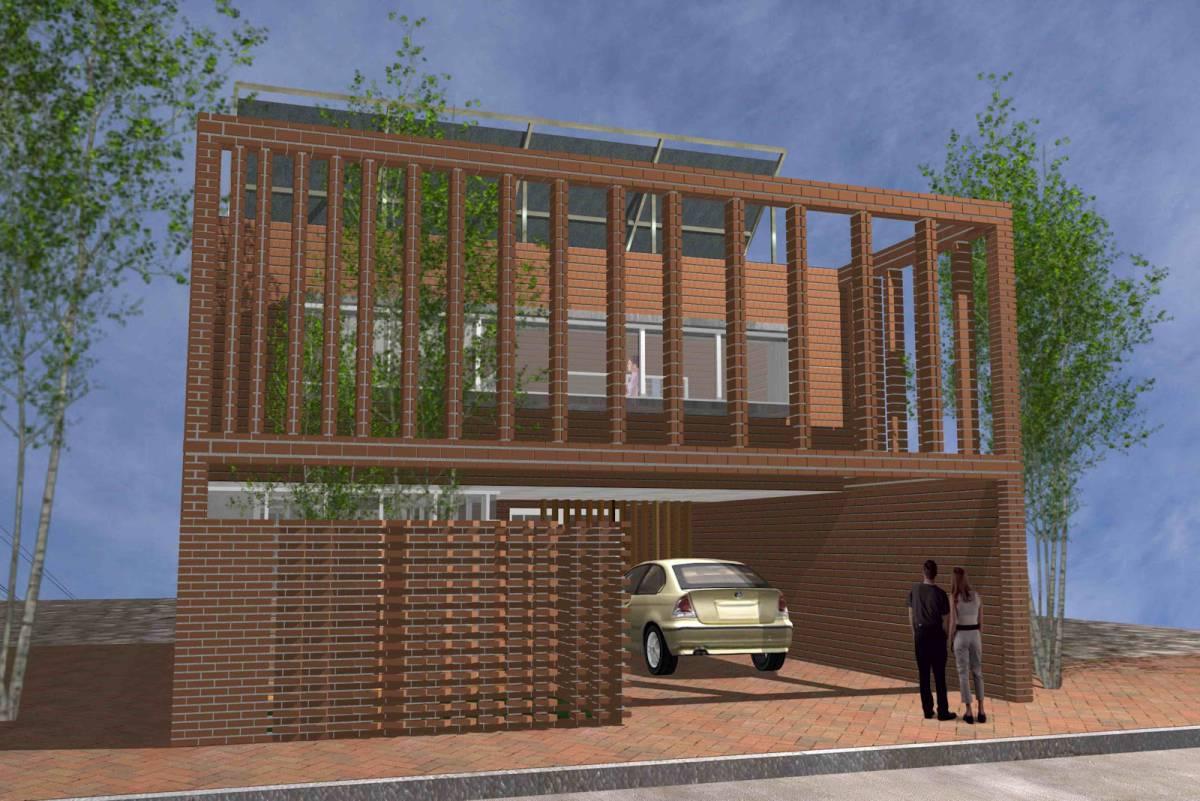 Casa Sustentable B&T II (Mención)